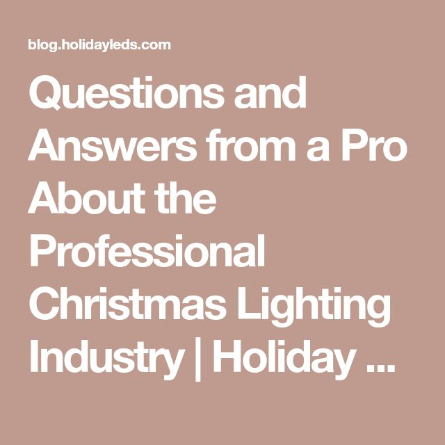 Questions and Answers from a Pro About the Professional Christmas Lighting Industry | Holiday LED Lighting  sc 1 st  Pinterest & The 25+ best Industrial led lighting ideas on Pinterest | Media ... azcodes.com