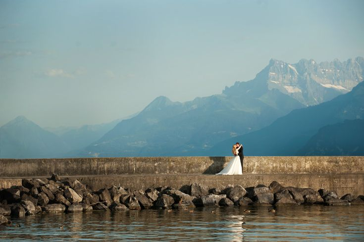 Wedding in Vevey