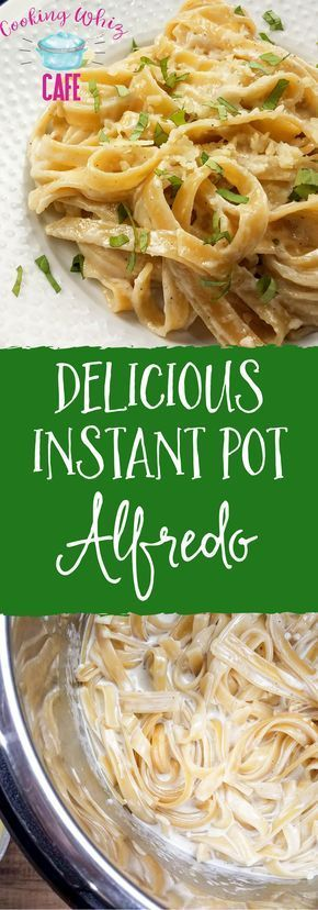 Do you love pasta? If so, this delicious instant pot fettucine alfredo recipe is fantastic! Give this easy pressure cooker recipe a try! #instantpot #pressurecooker #alfredo #fettucini #fettucinialfredo