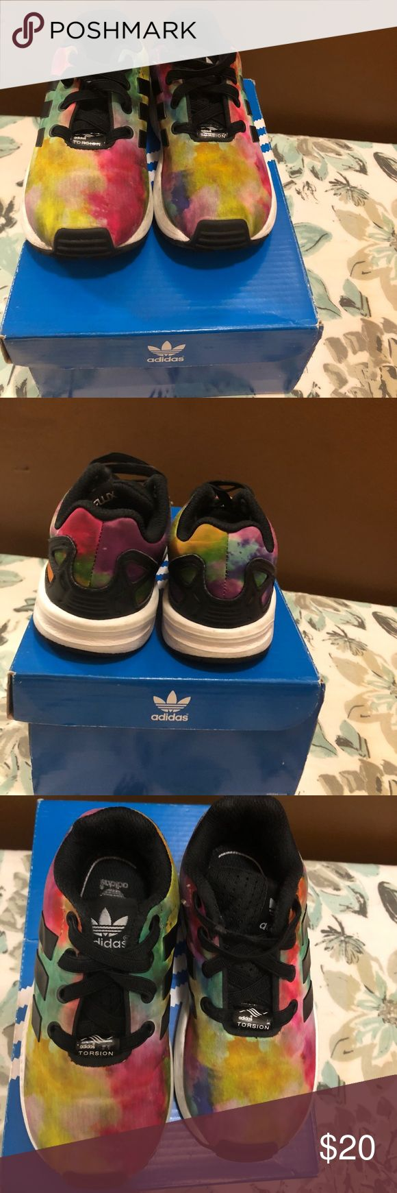 Adidas toddler sneakers Multi colored flux toddler sneakers adidas Shoes Sneakers