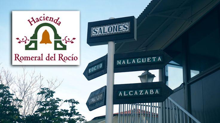 Elige entre nuestros 4 diferentes salones para la celebración de tu boda o evento en Málaga Zona de aparcamiento junto a los salones de bodas en Málaga, en Hacienda Romeral del Rocio #salonesbanquetesMalaga #salonescomunionesMalaga