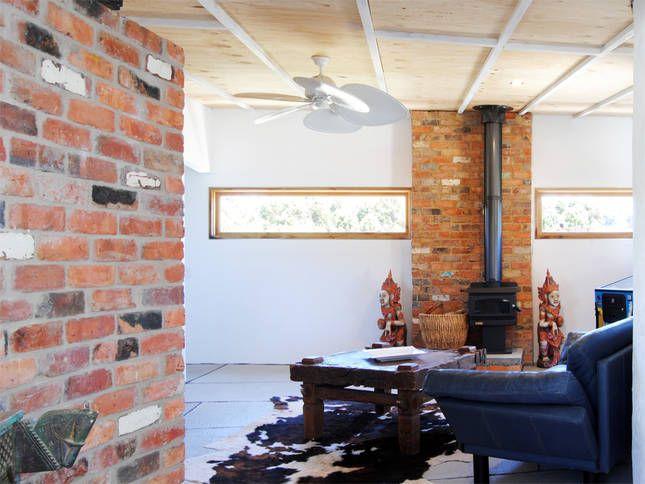 Courtyard wing sitting room | Malibu on the Beach - oceanfront retreat in Four Mile Creek, Tasmania