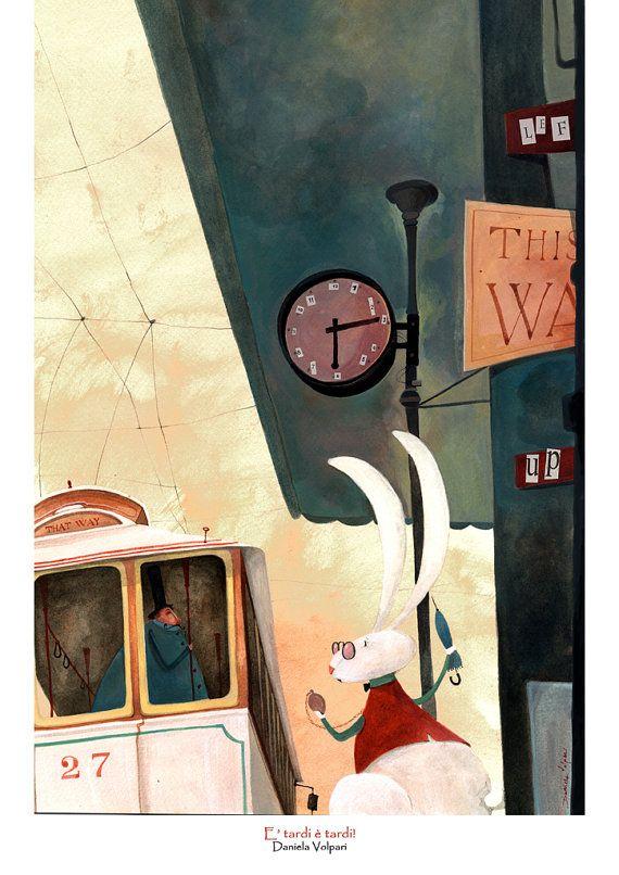 Print è tardi è tardi by DanielaVolpari on Etsy, €16.00