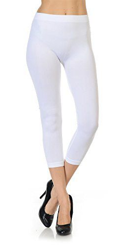 New Trending Pants: Same Mind INC Womens Ultra Soft Fabric Solid Color Casual Skinny Capris Leggings (White). Same Mind INC Women's Ultra Soft Fabric Solid Color Casual Skinny Capris Leggings (White)  Special Offer: $8.99  177 Reviews COLORFUL Women's Solid Color Stretch Slim Fitted Style Casual Skinny Capris Leggings leads to trendy and modern style with super soft, silky and...