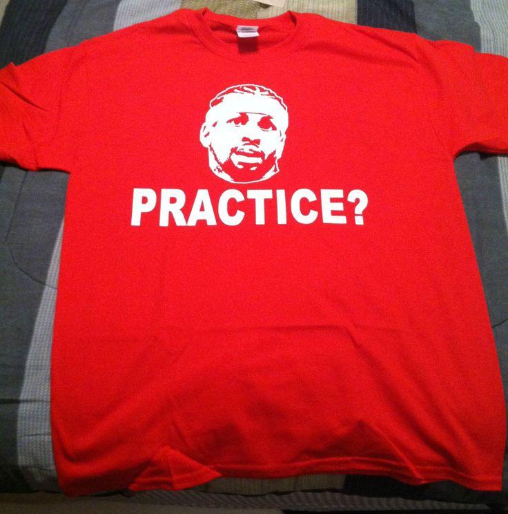 """Allen Iverson """"Practice"""" T-shirt Shirt Philadelphia 76ers Hat Jacket NBA #Handmade #GraphicTee"""