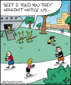 oblivious - Off the Mark by Mark Parisi