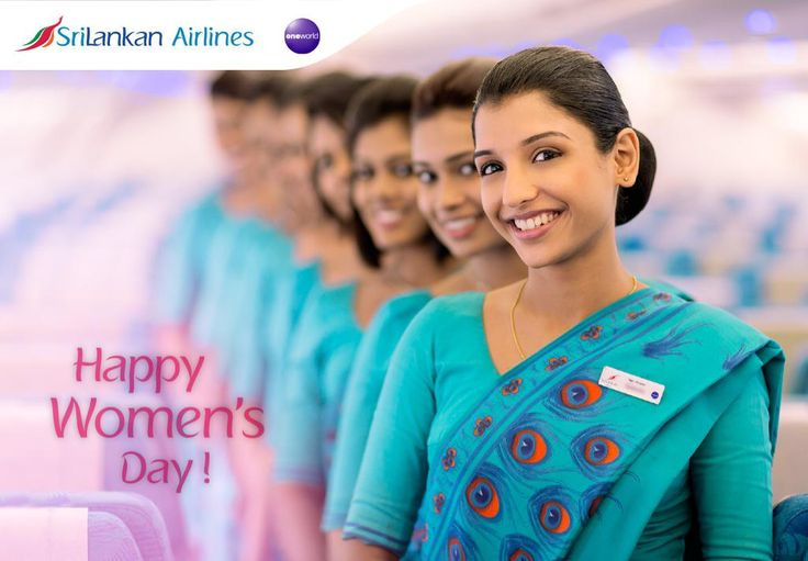 SriLankan Airlines Happy Women's Day