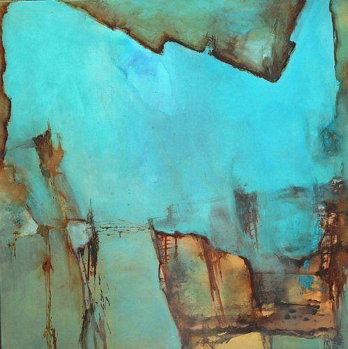 Agnes Lang Kunst Abstraktes Natur: Wasser Gegenwartskunst