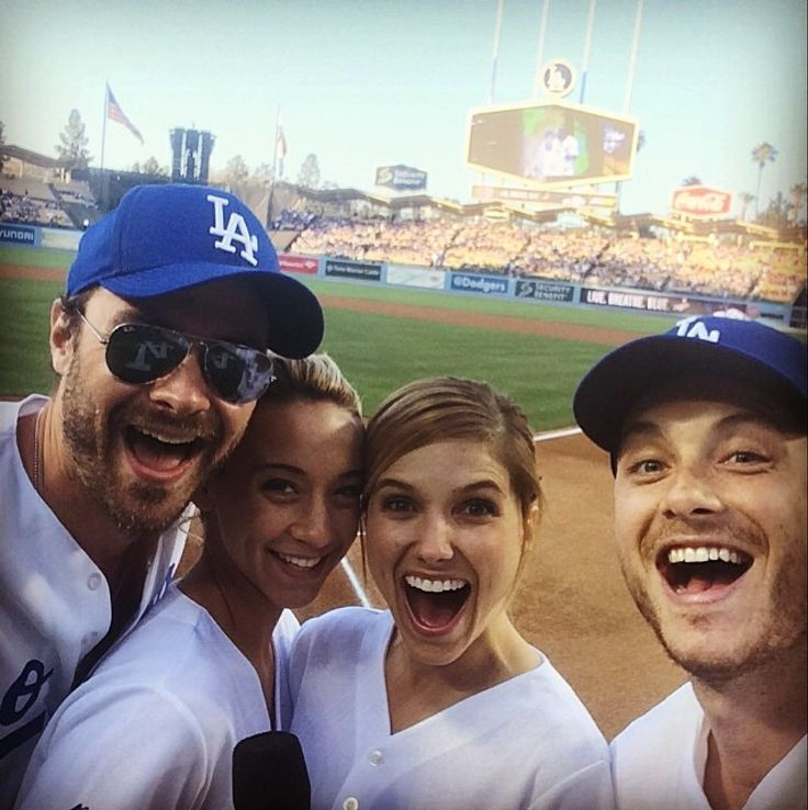 Jesse Lee Soffer, Sophia Bush, Patrick Fluegar  Stella Maeve. Chicago PD Dodgers!