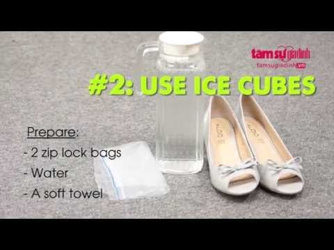 5 Tips to loosen your tight shoes - YouTube