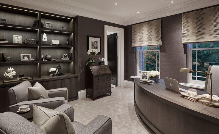 Best 25 luxury office ideas on pinterest office built for Interior design office london