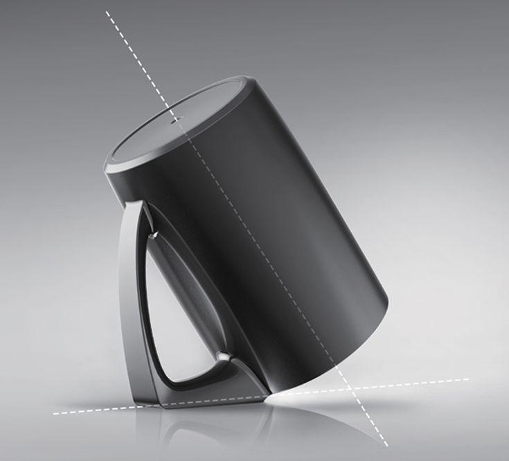 回歸本質的單純設計 Bevel Cup Cup Designed For Better Hygiene a 2012 red dot award: design concept winner.