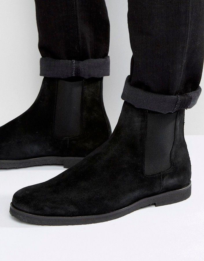 Religion Suede Chelsea Boots