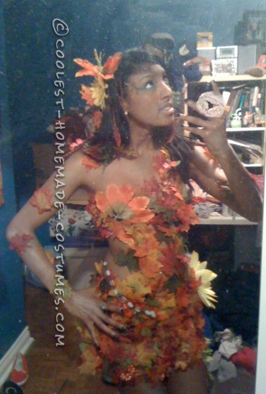 Sexy DIY Costume Idea: Autumn Tree Nymph ... This website is the Pinterest of costumes