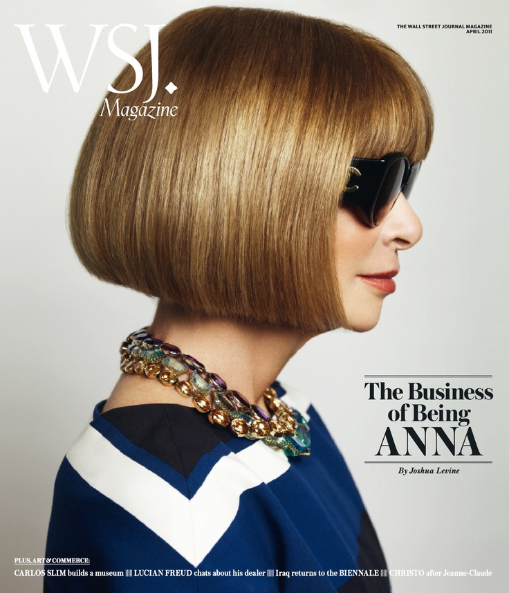 The Business of being Anna WSJ April 2011