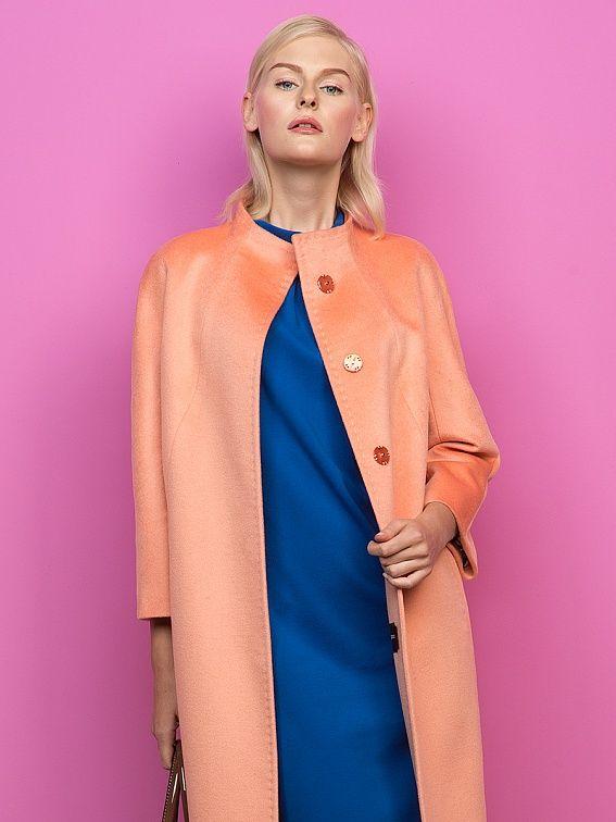 Пальто женское во Владивостоке Ткань: Ворс Состав: Основная ткань: шерсть 92% | Женская верхняя одежда