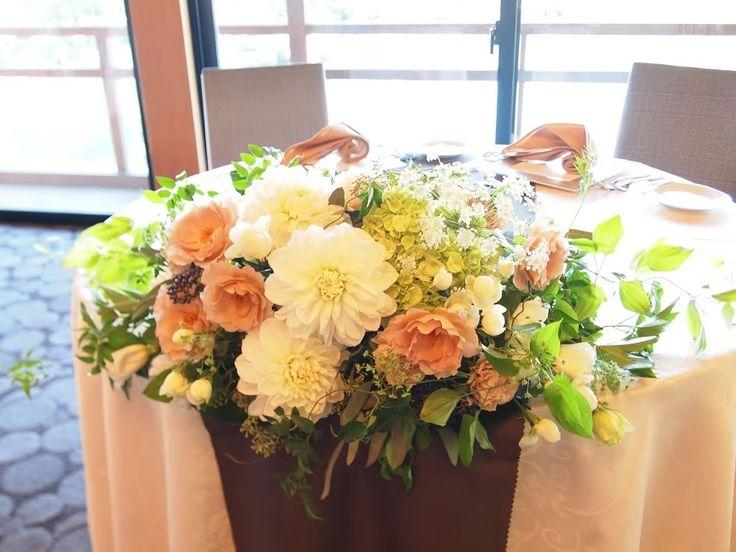 #VressetRose #Wedding #pink #table coordinate#main table#smoky pink #natural #Flower #Bridal #ブレスエットロゼ #ウエディング# ピンク #スモーキーピンク #アンテーク#オールドローズ # メインテーブル #テーブルコーディネート #ナチュラル#ダリア#ブライダル#結婚式
