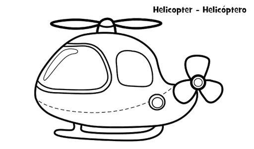 11 Ide Kendaraan Udara Buku Mewarnai Warna Gambar