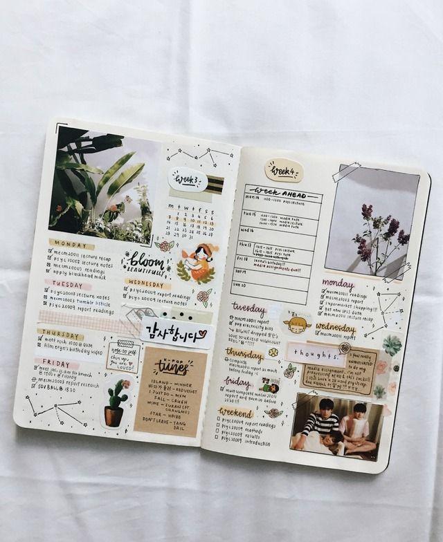 bullet journal wöchentliche verbreitung bujo – #B…