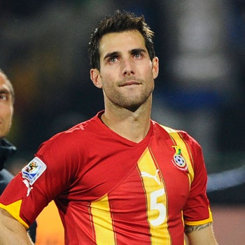 Carlos Bocanegra will compete on the USA national soccer team in London.