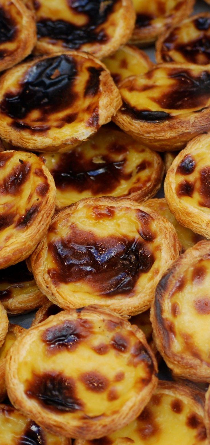 Pastel de Belém (or custard pastry) | Nata #Portugal #Porto #Portoholidays