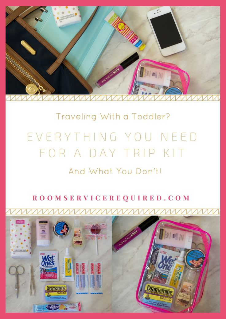 Toddler Day Trip Kit