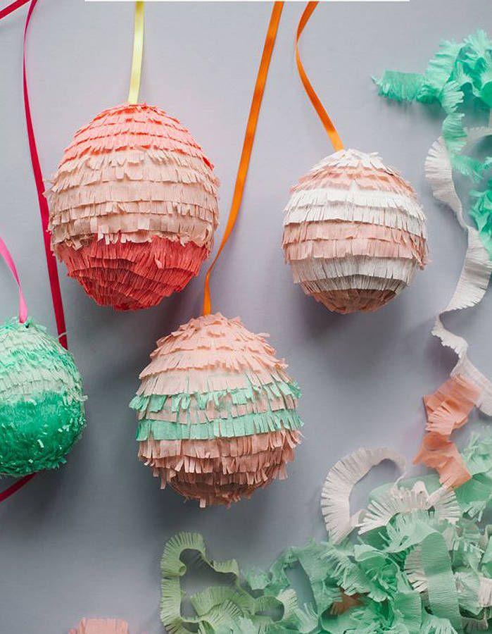 Oeufs piñatas #DIY #PAQUES