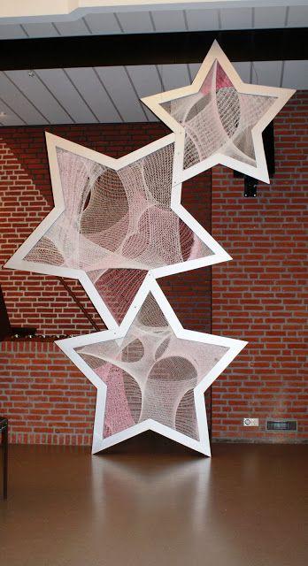 Knitting stars