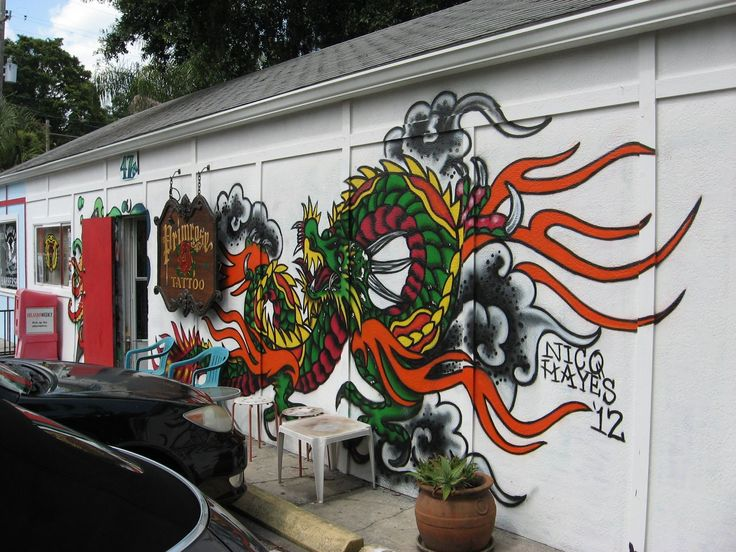 38 best images about murals of orlando on pinterest 50 for Tattoo shops in orlando fl