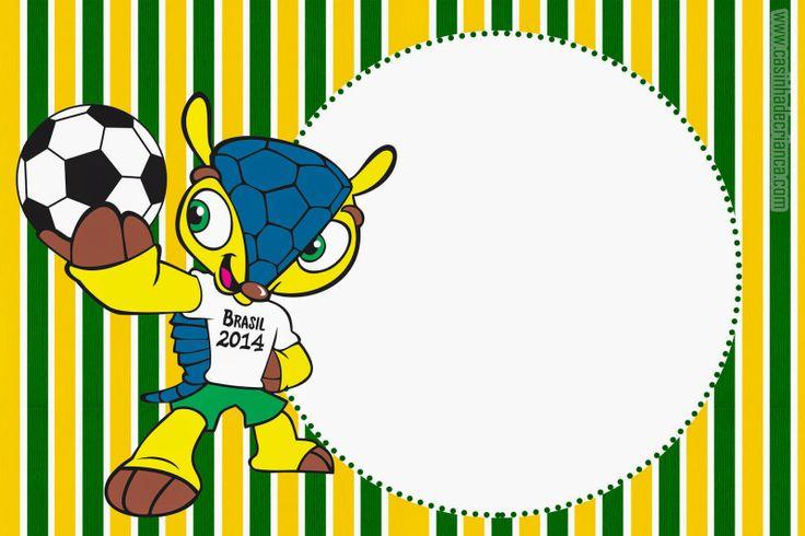 Kit Festa Copa 2014 Para Imprimir Grátis
