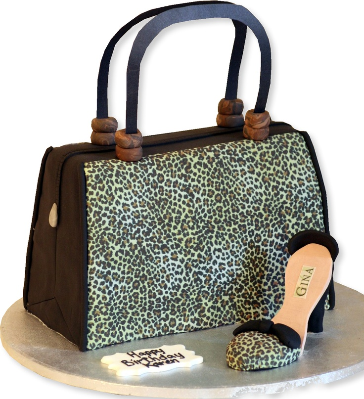 Best Birthday Cakes Images On Pinterest Purse Cakes Handbag - Purse birthday cake ideas