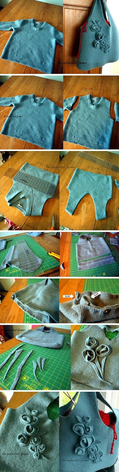 ART WITH QUIANE - Paps, Molds, EVA, Felt, seams, 3D Fofuchas: sweater Stock Exchange Step by Step