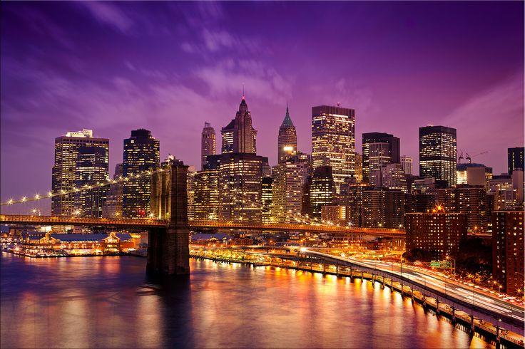 The Brooklyn bridge New York is the most famous bridge of New york city.