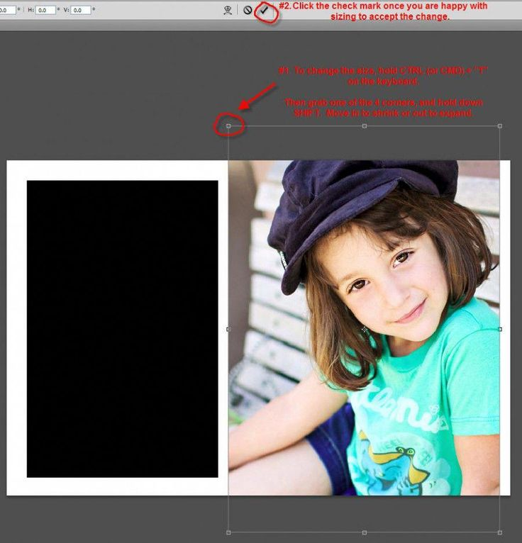 """How to use a """"Clipping Mask"""" to insert photos into a"""