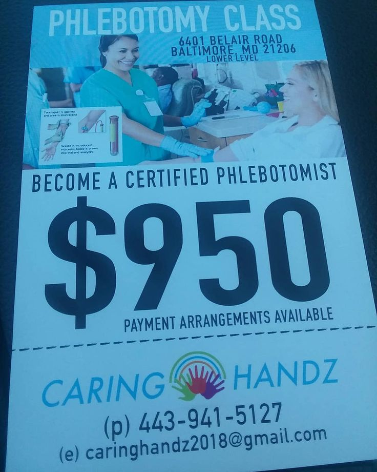 Are you looking to start a career or change your #career. Caring Handz is now offering #phlebotomy classes. Call today to #register or for more info. . .. . #education #learn #continuingeducation #healthcare #job #readiness #baltimore #baltimorecity #instadaily