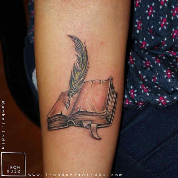 Halaah Io Best Tattoo Designs For Men: 60 Best Images About Book Tattoos On Pinterest
