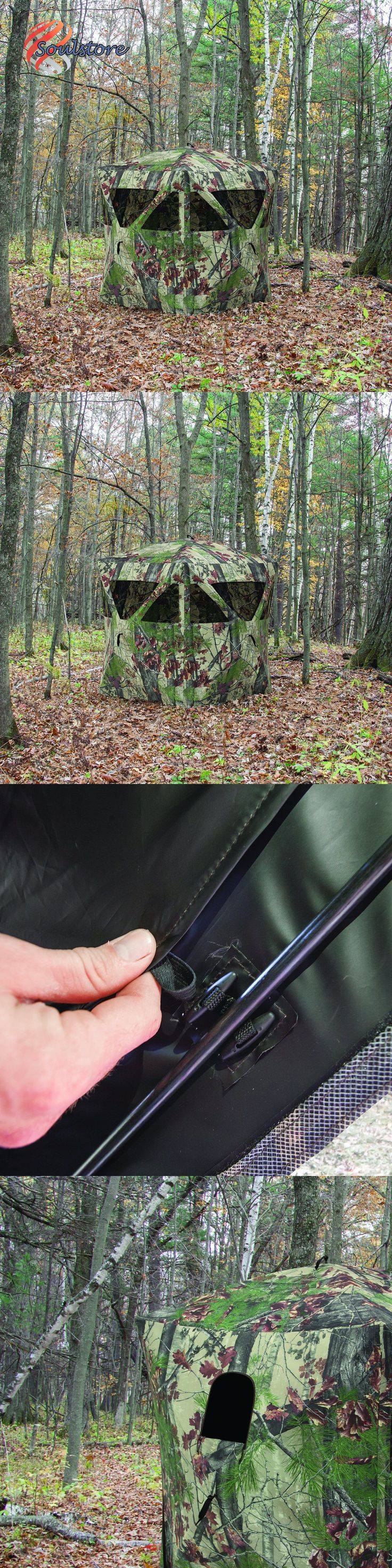 Blinds 177910: Radar Hunting Ground Blind Bloodtrail Backwoods Camo Hunting Deer Game Turkey -> BUY IT NOW ONLY: $111.98 on eBay!