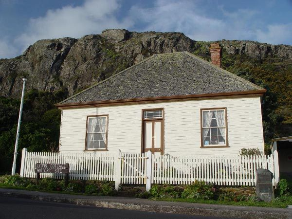 Lyons Cottage, Stanley... visit during the TasRes Art & Technology Writers' Self-Publishing Residency. Photo by Dan Fellow; Article for think-tasmania.com