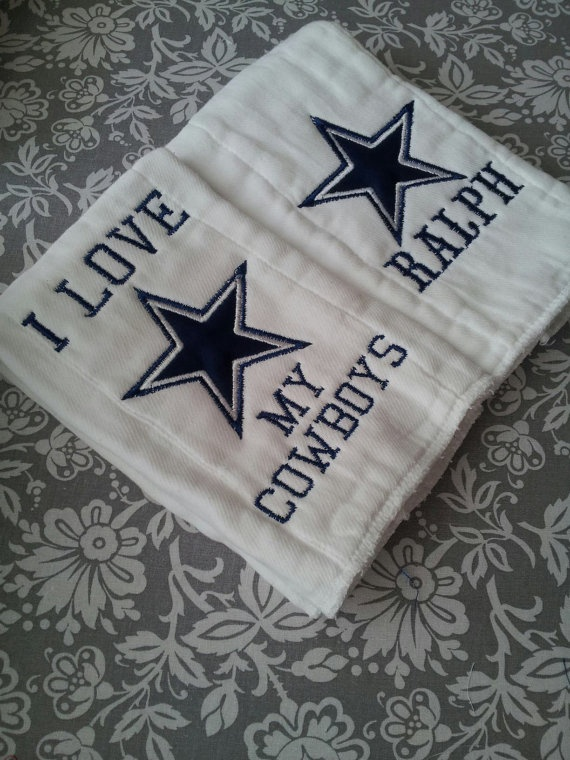 98 best cute captions images on pinterest babies clothes baby boy dallas cowboys personalized burp cloth set great baby shower gift 24 negle Choice Image