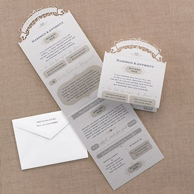Special 30% Discount U2013 Wedding Invitations And Save The Dates: Our Story U2013  Invitation