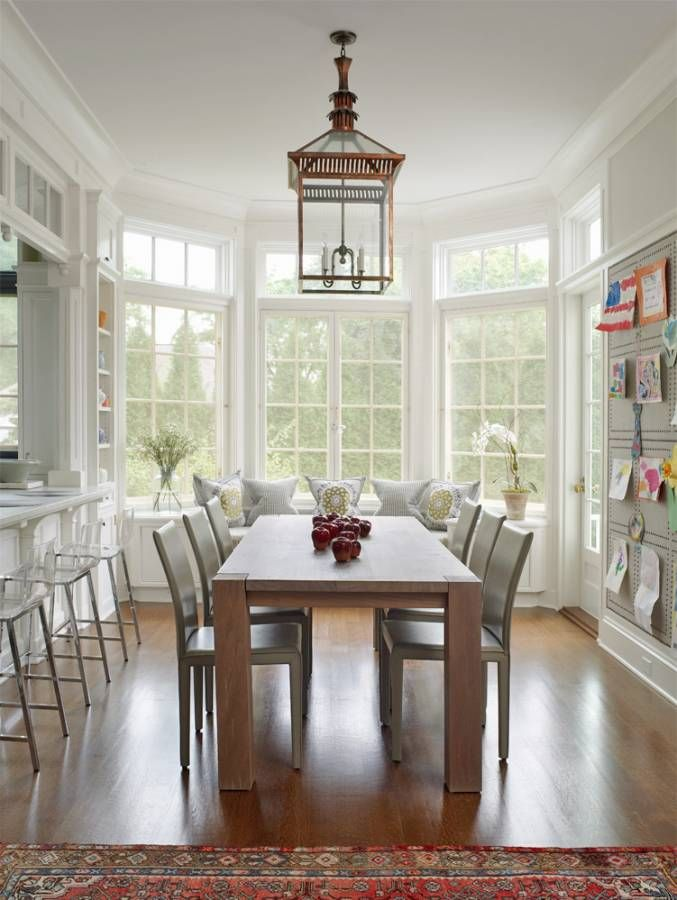 25+ best ideas about Large dining room table on Pinterest   Farm ...