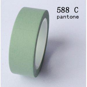 Solo Uni - Pantone 396 C Vert Jade - lovely tape - 3,00
