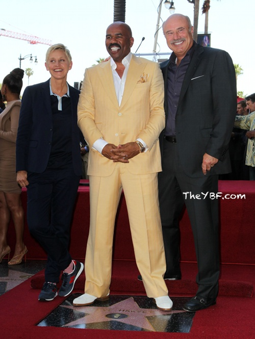 steve harvey walk of fame star | HOLLYWOOD: Steve Harvey Receives Star On The Hollywood Walk Of Fame ...
