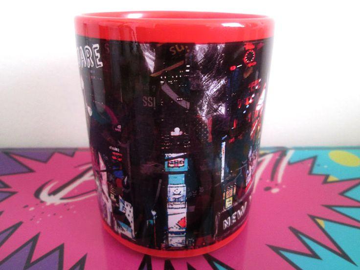 Mug con Diseño del Times Square - Imaginaerum Regalos Bogotá