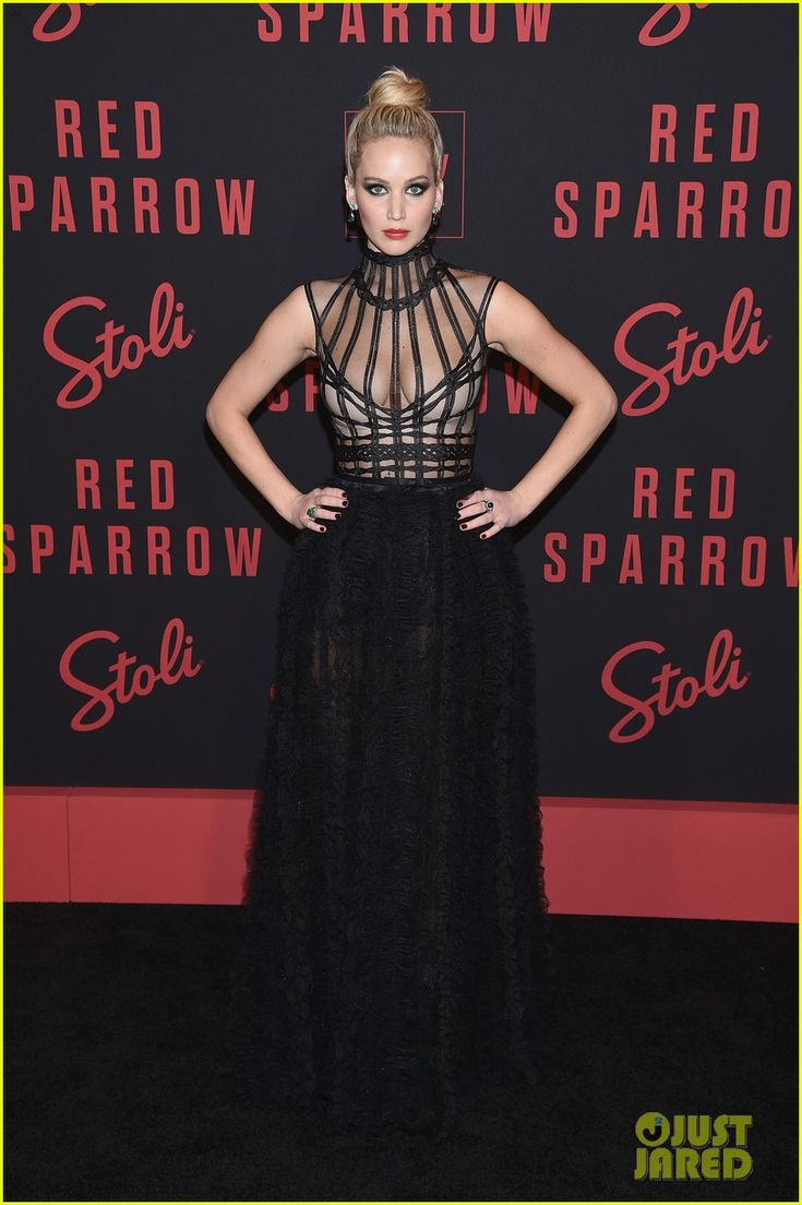 This girl😍 Jennifer Lawrence at Red Sparrow Premiere 2018