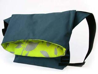 COCON - Handgewobene Stoffe + Tücher: Leichte Umhängetaschen aus Segeltuch von Linckx