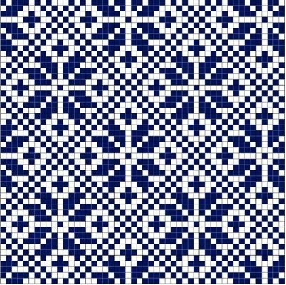 Snowflake in Diamond Norwegian Fair Isle pattern. simple, yet very effective ...repinned für Gewinner! - jetzt gratis Erfolgsratgeber sichern www.ratsucher.de