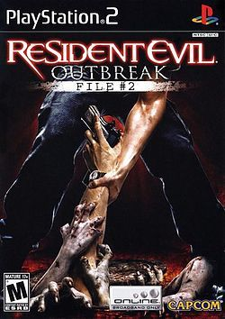 """I love the cover of """"Resident Evil: Outbreak - File #2"""". It's still one of my favorite games in the Resident Evil series."""