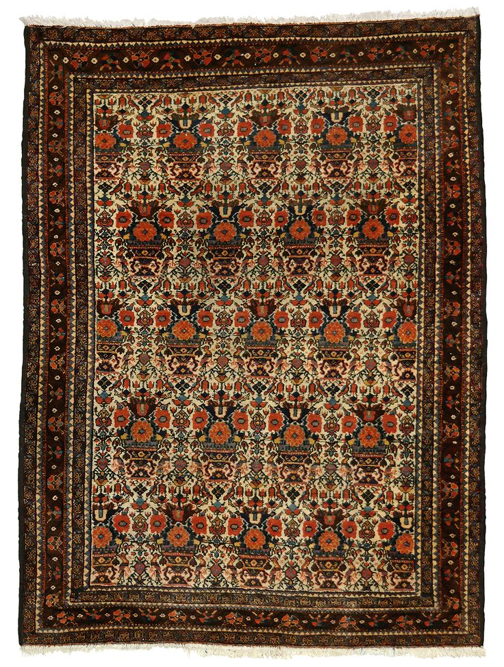 Abadeh - old persian carpet - KR 979  Size	146 x 104 cm