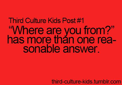 Third Culture Kids Posts